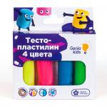 Набор DREAM MAKERS Тесто-пластилин, 4 цвета