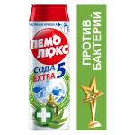 Чистящий порошок ПЕМОЛЮКС Антибактериальный, 480г