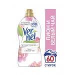 Кондиционер для белья VERNEL Ароматерапия Пион и Белый чай, 1,82 л