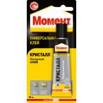 Клей МОМЕНТ Кристалл прозрачный, 30г