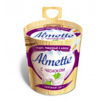 Сыр творожный ALMETTE 70% с чесноком, 150г