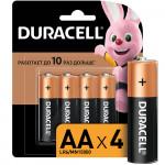 Батарейки DURACELL AA Basic, 4 шт