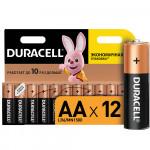 Батарейки DURACELL Basic AA, 12шт
