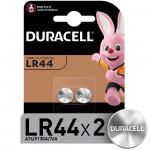 Батарейки DURACELL LR44, 2шт