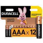 Батарейки DURACELL Basic AAA, 12шт