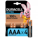 Батарейки DURACELL ULTRA Power AAA, 4 шт