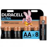 Батарейки DURACELL Ultra Power AA, 8 шт.