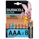 Батарейки DURACELL Ultra Power, AAA, 8 шт.