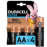 Батарейки DURACELL ULTRA Power AA, 4 шт