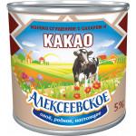 Сгущенное молоко с какао АЛЕКСЕЕВСКОЕ ту, 380г