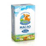 Масло сливочное КОРОВКА ИЗ КОРЕНОВКИ крестьянское 72,5%, 180г