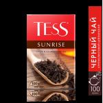 Чай TESS Sunrise Черный Пакетированный, 100х1,8г