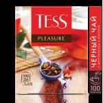 Чай TESS Pleasurе черный, 100пак*1,5г