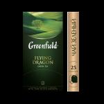 Чай GREENFIELD Flying Dragon зеленый пакетированный, 25х2г