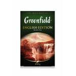 Чай GREENFIELD English Edition черный, 200 г