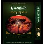 Чай GREENFIELD Kenyan Sunrise черный пакетированный, 100х2г