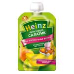 Детское пюре HEINZ Фруктовый салатик, 100 г